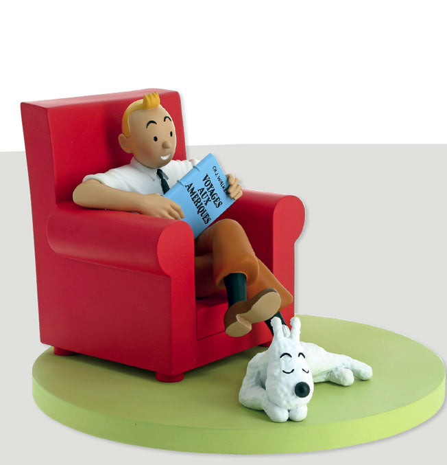 Tintin Red Armchair