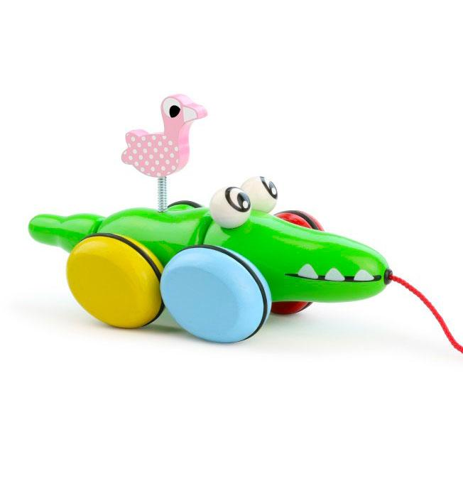 Pull Toy Croc & Odile