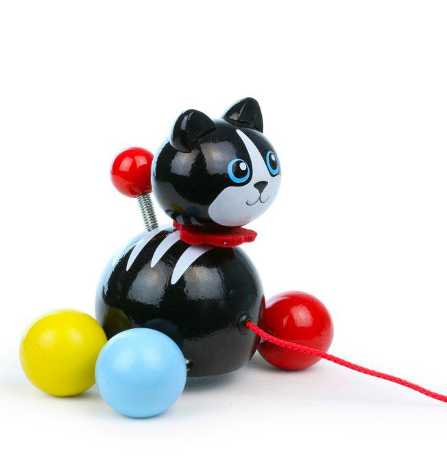 Pull Toy Minou Cat
