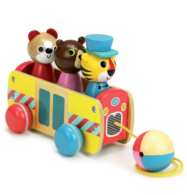 Pull Toy Coach