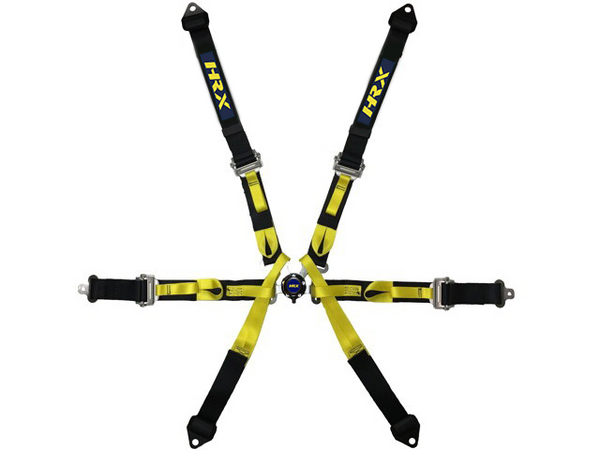 6 POINTS HARNESS 2'' HANS