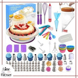 kit decoration plateau tournant gateau patissier
