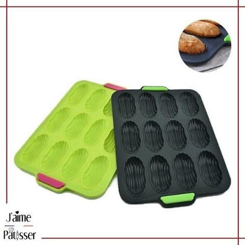 moule a madeleine silicone sans bpa