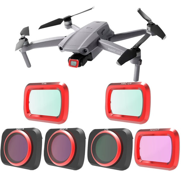 For Mavic Air 2 - Adjustable Drone Filters Protector
