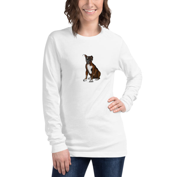 Long Sleeve Boxer Tee