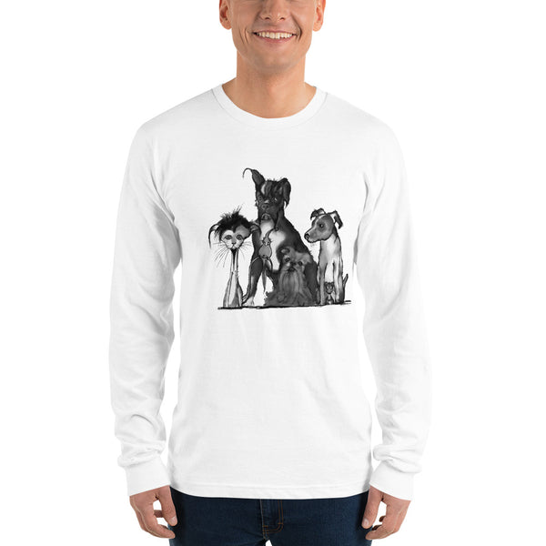 Families Come in All Shapes and Sizes Long sleeve t-shirt