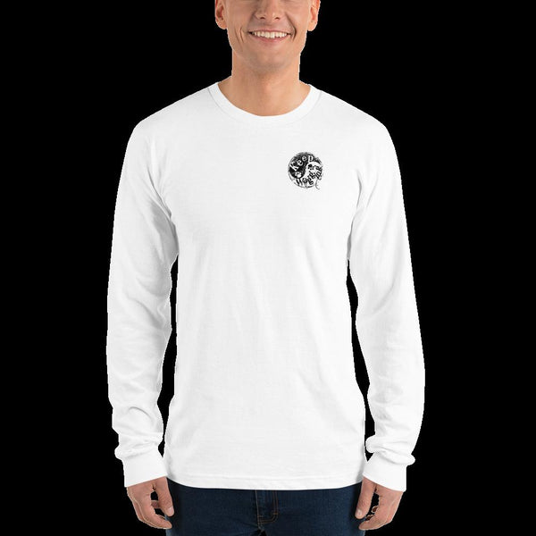 Keep Wagging Yin Yang 100% soft cotton Long sleeve t-shirt