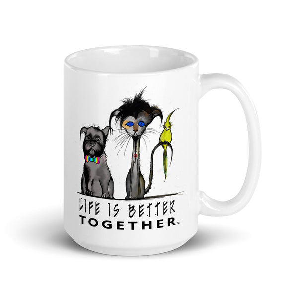 Life Is Better Together Family Mug