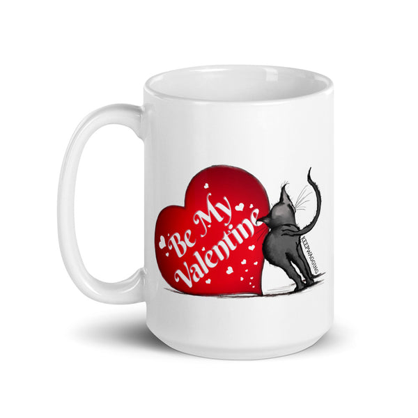 Be My Valentines Kitty Mug
