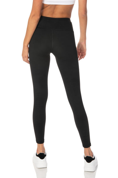Black Highwaist Capri Leggings - Hypeach Active Bottoms HYPEACH