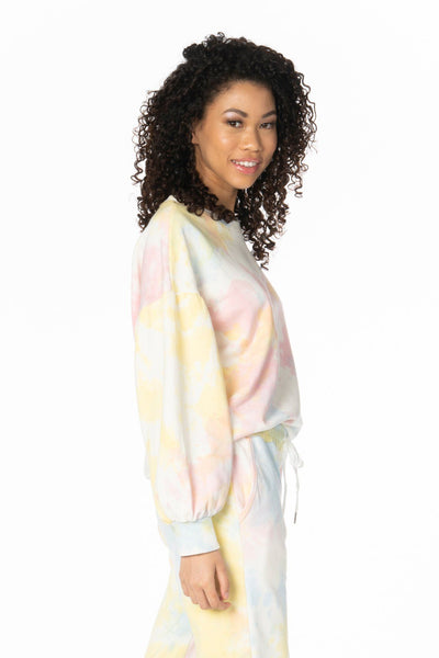 Cali Girl Tie Dye Sweatshirt Sets HYPEACH BOUTIQUE