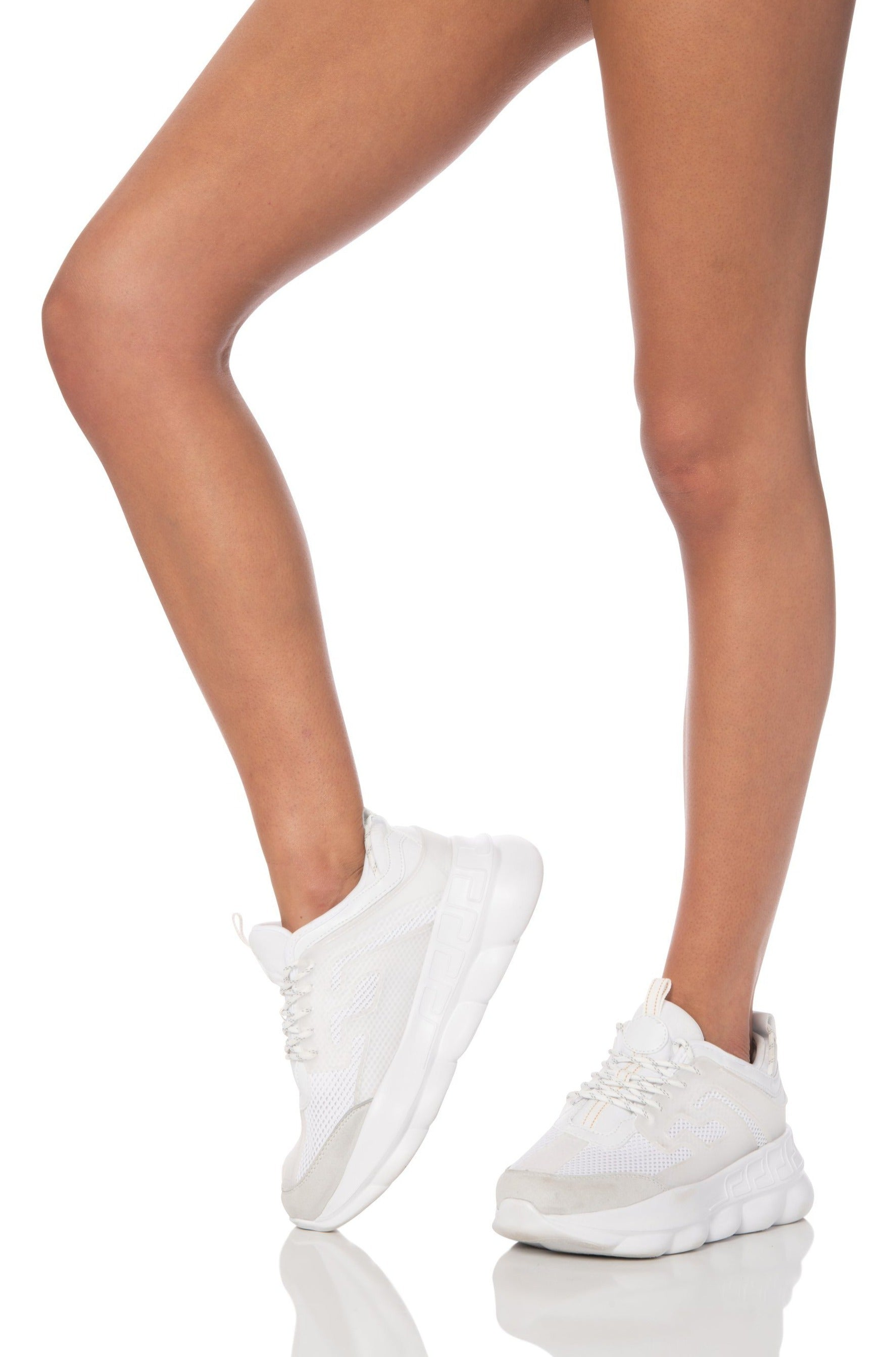 Chunky White Platform Sneakers Shoes HYPEACH
