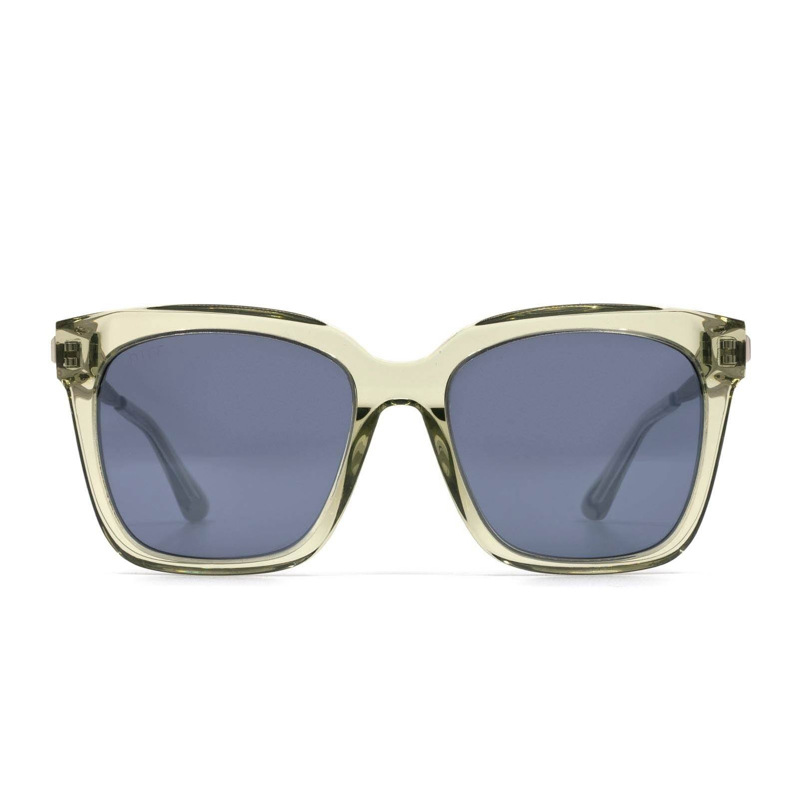 DIFF Eyewear - Bella - Olive Crystal Accessories DIFF Eyewear
