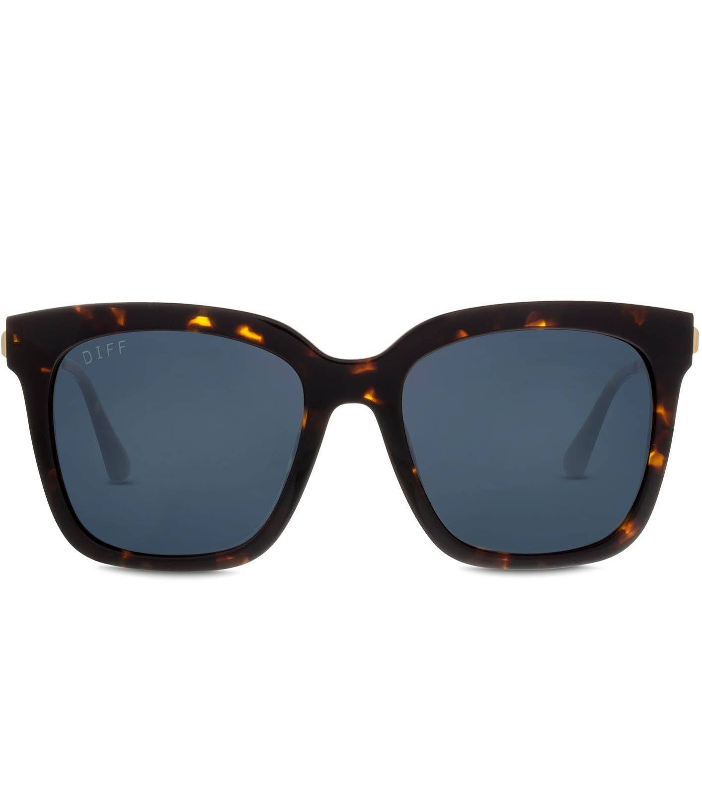 DIFF Eyewear - Bella - Tortoise (Polarized) Accessories DIFF Eyewear