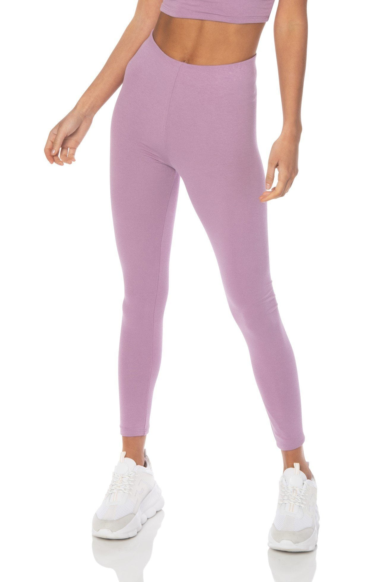 Dreamsicle Highwaist Leggings Lavender Bottoms HYPEACH