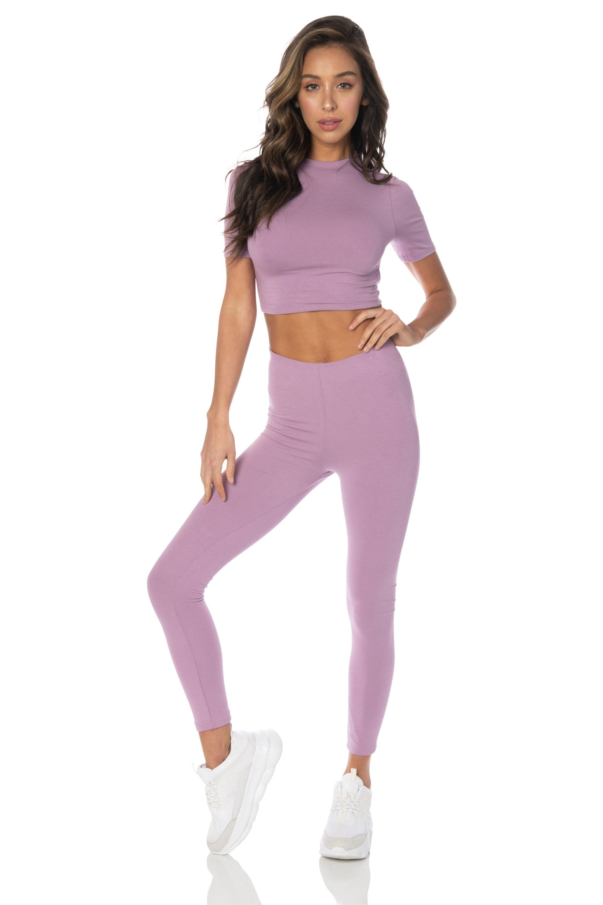 Lavender Long Sleeve Top Tops HYPEACH