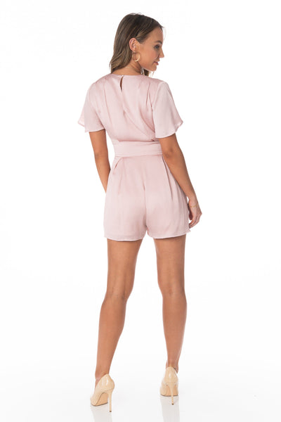 Mimosas Brunch Pink Romper Rompers & Jumpers HYPEACH BOUTIQUE
