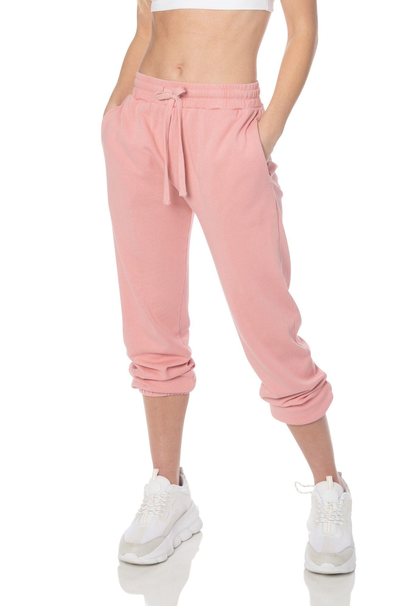 Mineral Washed Pink Relaxed Fit Joggers - Hypeach Lounge Bottoms HYPEACH