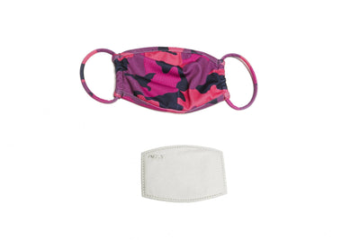 Pink Camo Face Mask Accessories HYPEACH BOUTIQUE