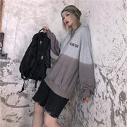 Dark Black Letter Top #A0362