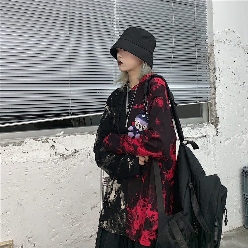 Black  & Red Parka #A0130