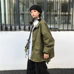 Army Girl Cool Jacket #A0393