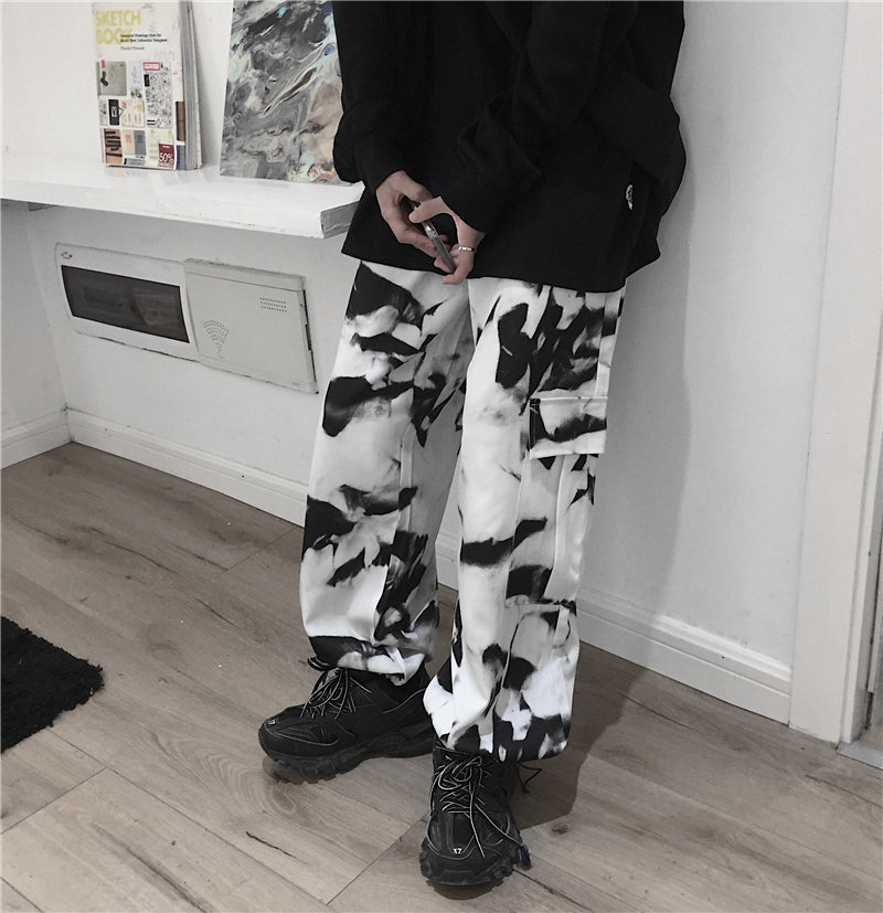 Dyed Ink Work Pants #A0231
