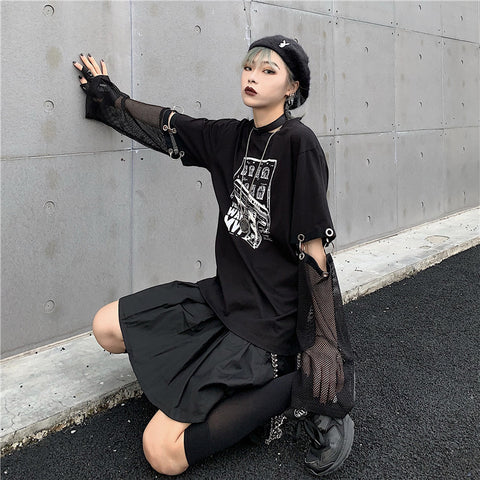 Black Seathrouh T-shirt #A0123