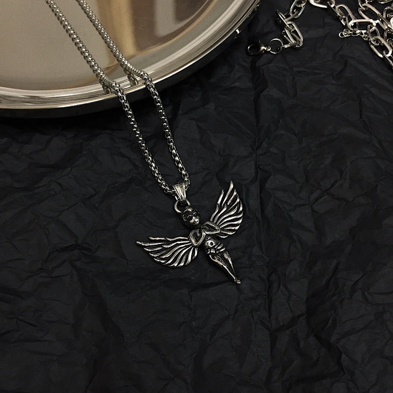 Black Angel Necklace #HIKARI05