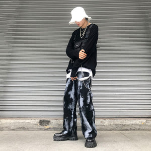 Dyed Ink Wide Pants #A0230