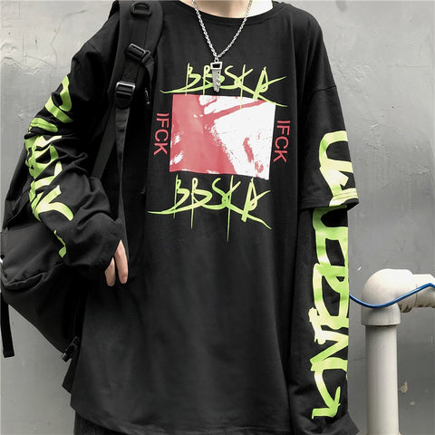 Layerd IFCK Long T-shirt #A0135