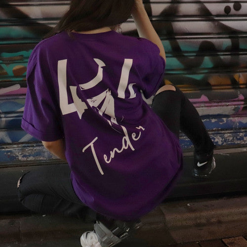 404 TENDER TEE PURPLE