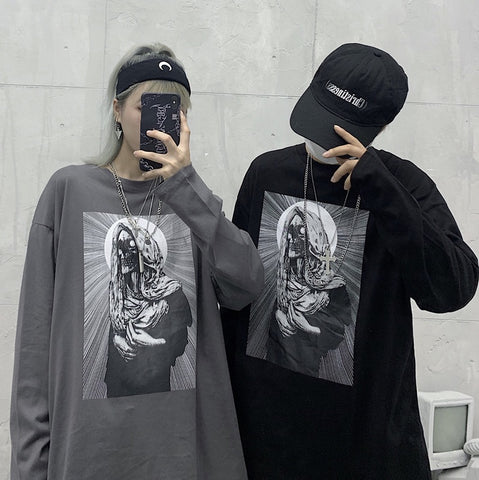 Devil Long T-shirt #A0105