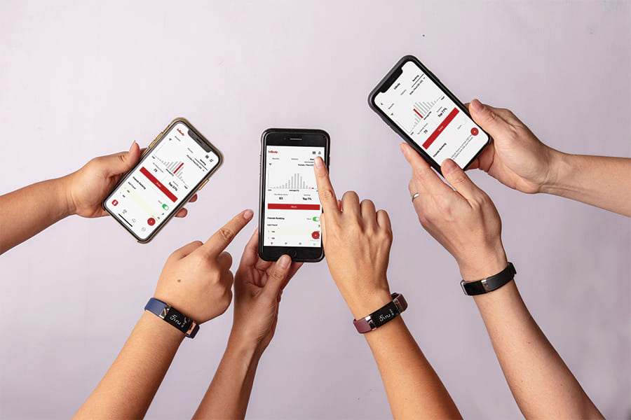 InBody H20N checks our body more accurately with the InBody app.