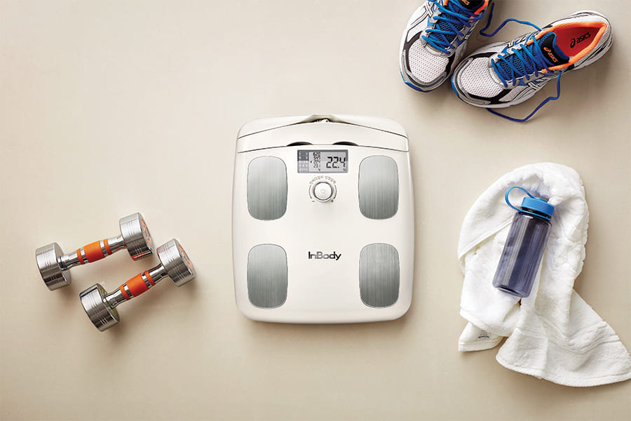 The InBody H20N Whole Body Composition Analyzer is the best body composition device.