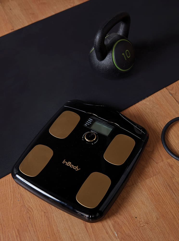 Everyday check your body at home, H20N Whole body composition analyzer & InBody app