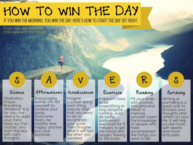 Boldnine blog : 6 routines for successful morning ; Life SAVERS