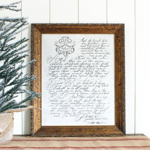 The Story of Christmas (Luke 2:7-14) Print