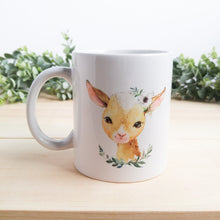 "Load image into Gallery viewer, ""Elsie the Baby Goat"" Farmyard Babies Mug"
