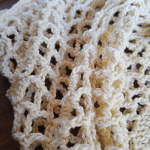 Load image into Gallery viewer, Crochet Rustic Mesh Market Bag