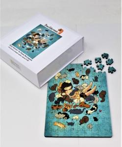 Kitty Heaven classic wooden puzzle