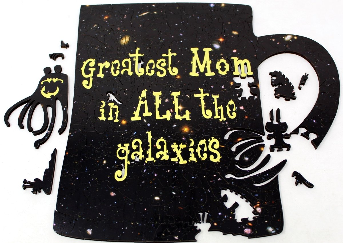 Greatest Mom in All the Galaxies 311-piece mug wood puzzle