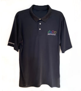 PIT POLO SHIRT WITH GEO LOGO