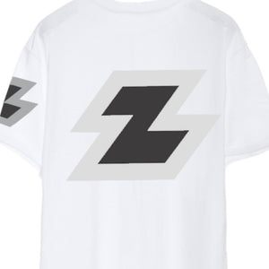 Zeronine Reflective Big Z Short Sleeve Soft Tee: 100% Combed Ringspun Cotton Detail