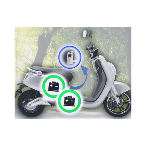 Nipponia Volty E-scooter | Luxe en Stijl