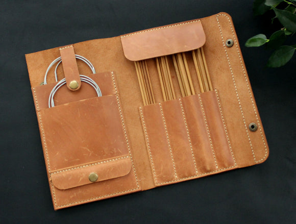 Knitting needles cases