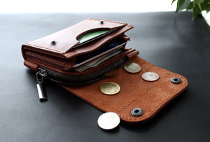 Small wallet Brick Brown - Anger Refuge