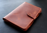 Kindle Paperwhite case Brick brown - Anger Refuge