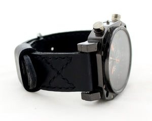 Watch band Black - Anger Refuge