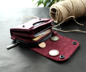 Small wallet Purple - Anger Refuge